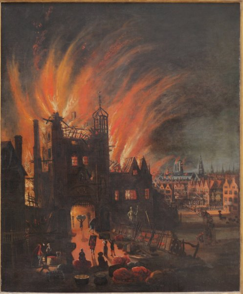 The_Great_Fire_of_London,_with_Ludgate_and_Old_St._Paul's